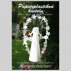 Blumenmädchen weiß