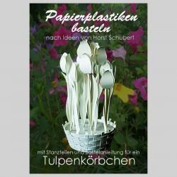 Tulpenkörbchen weiß